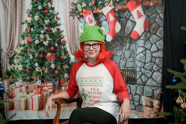 Mary's Place 2016 Santa Photos