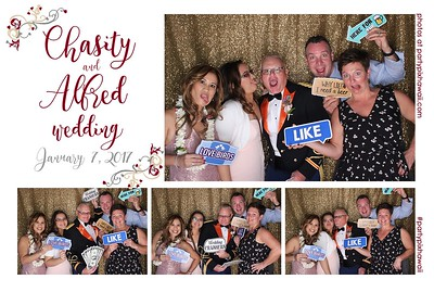 Chasity & Alfred's Wedding (LED Open Air Photo Booth)