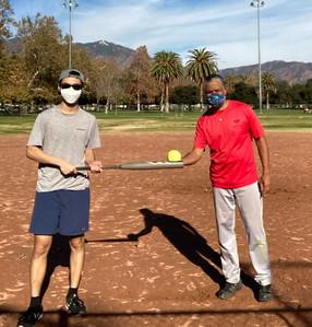20201230 Bailey & Sheldon Play Ball
