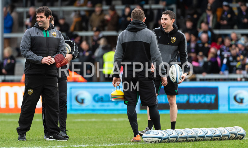 Exeter Chiefs vs Northampton Saints, Gallagher Premiership, Sandy Park, 23 February 2020
