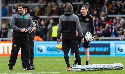 Exeter Chiefs vs Northampton Saints, Gallagher Premiership, Sandy Park, 23 February 2020