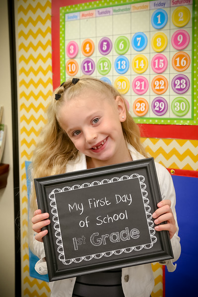 First Day of School  25 Aug. 2014