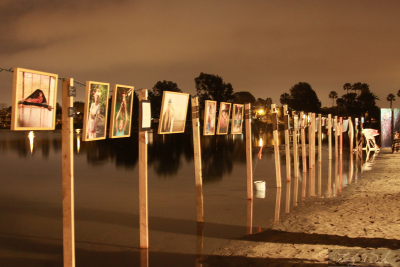 Acoustic Tidal Artwalk @ Colorado Lagoon. Long Beach, California 2009-2011