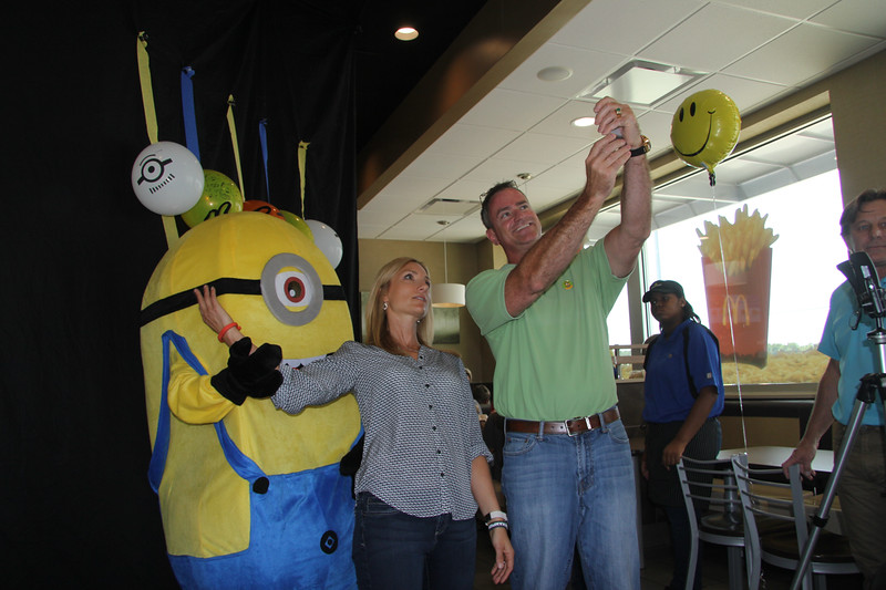 Dulcy & Bill with Stuart Minion