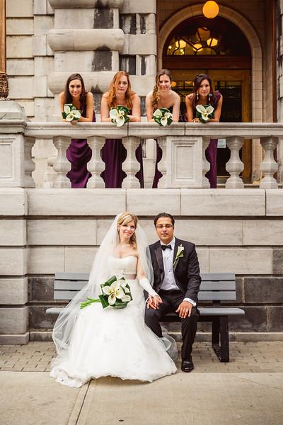 Wedding Stéphanie-Anne and Kaunteya - Musée des Beaux Arts - Montreal