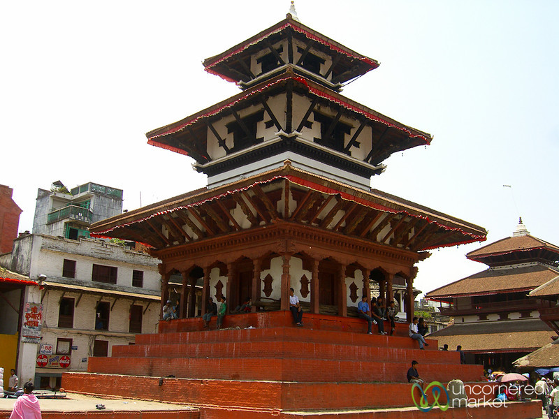 Degutalle Temple in Durbar Square - Kathmandu, Nepal