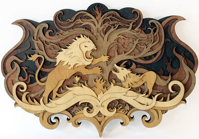Martin Tomsky 3-D wood stories