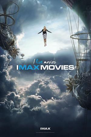 imax new brand campaign launch event