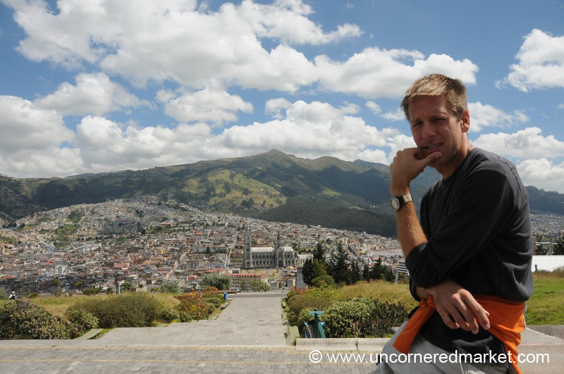 Pensive About Quito (Ecuador)