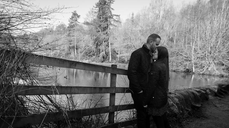 Staffordshire pre-wedding photography
