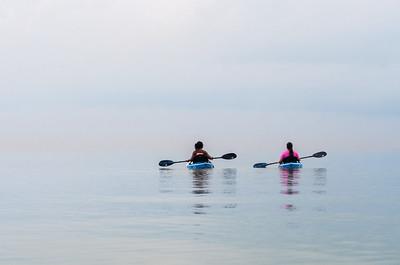 061818 Islander Launch Kayaking