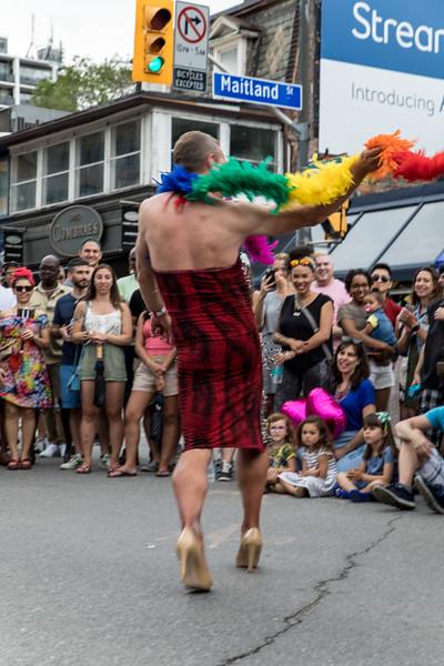 High Heel Strut 2017 - Contestant Dance-off: Luscious D