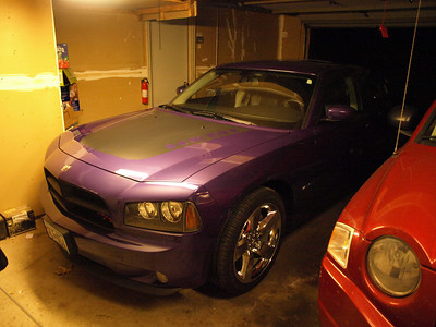 Rocky the 2007 Plum Crazy Charger (Ambers New Car)