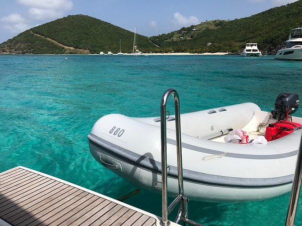 Sailing in BVI - 2017
