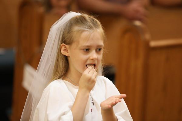 First Communion June 13
