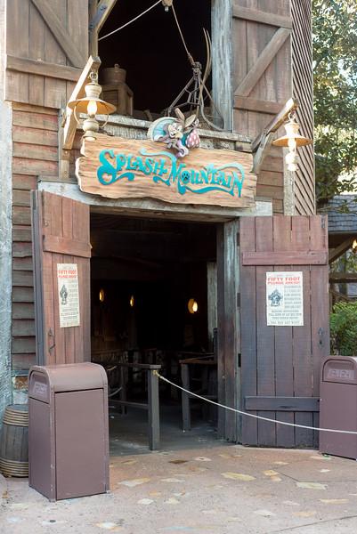Splash Mountain No Line - Magic Kingdom Walt Disney World