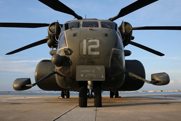"US Navy MH-53E ""Sea Dragon"", Panama City, 18Jul20"