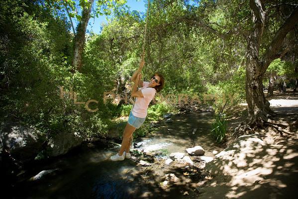 Bouquet Canyon Waterfall, Bouquet Canyon, CA 07/14/10