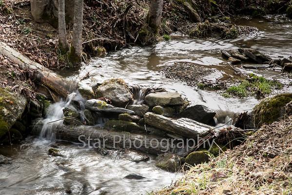 Creek In Roan Mountian 03-12-15