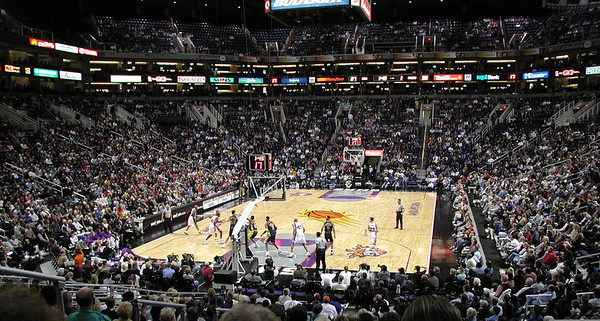 Pacers at Suns 2002