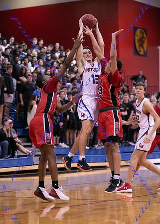 LMHS V Basketball vs LBHS - Jan 23, 2019
