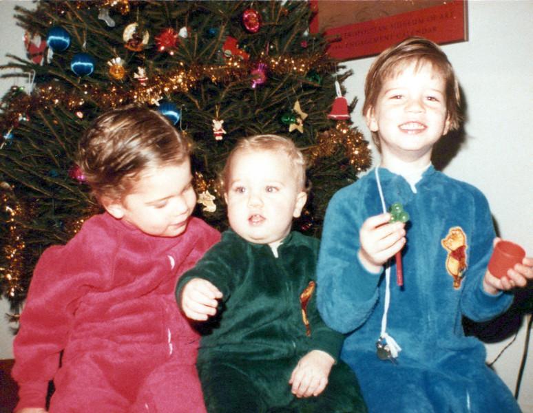 1984 AJ, John and Max Christmas Eve.jpeg