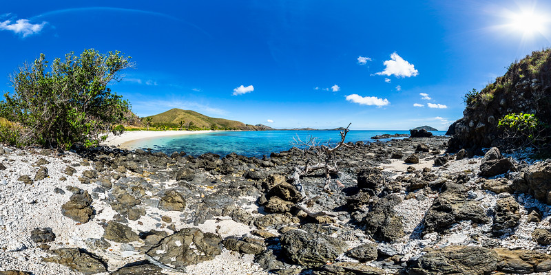 Rocks and Coral at Paradise Beach - Yasawa - Fiji Islands