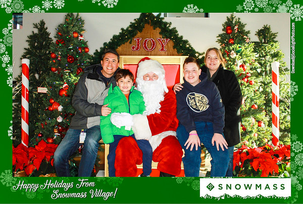 THe Town of Snowmass Village Presents: Photos With Santa 2019-Day 1