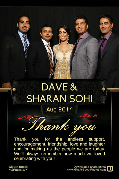 Dave and Sharan Wedding - Friends and Family