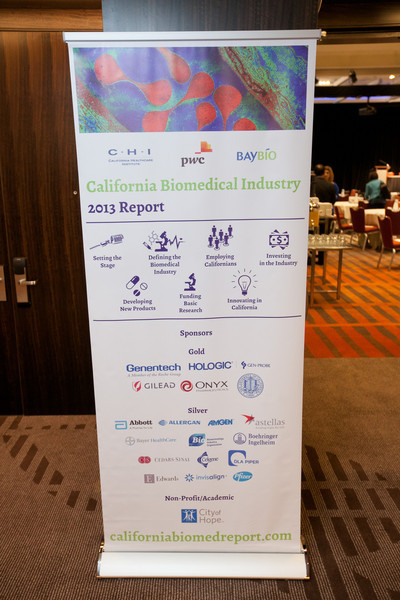 Launch of the 2013 CA BioMed Industry Report