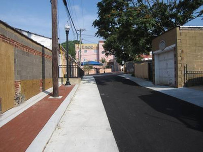 Carpenter Street Green Alley </br> Wilmington, DE