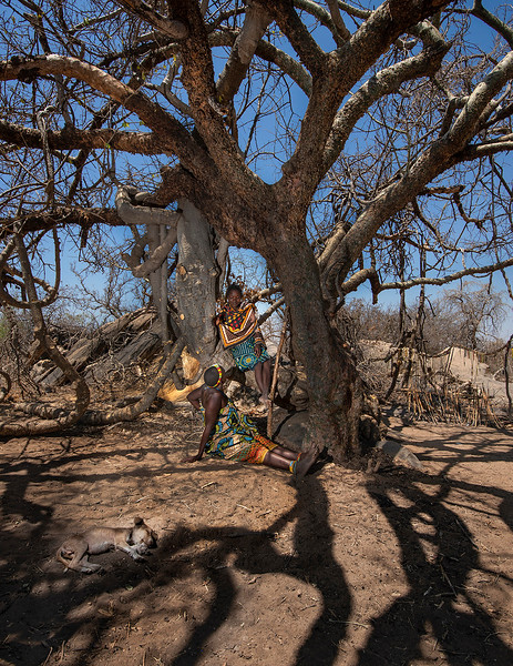 As descendants of Tanzania's aboriginal hunter-gatherer population, the Hadzabe have probably occupied their current territory for thousands of years, with relatively little modification to their basic way of life until the past hundred years