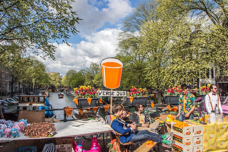 King's Day and Prinsengracht