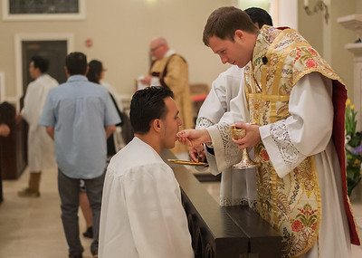Easter Vigil Mass  032616