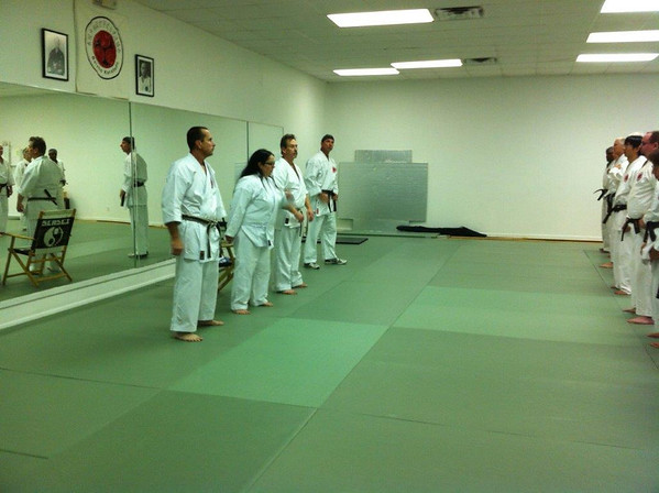 Sensei Jayne's Seminar (Oct. 12th -14th, 2013)