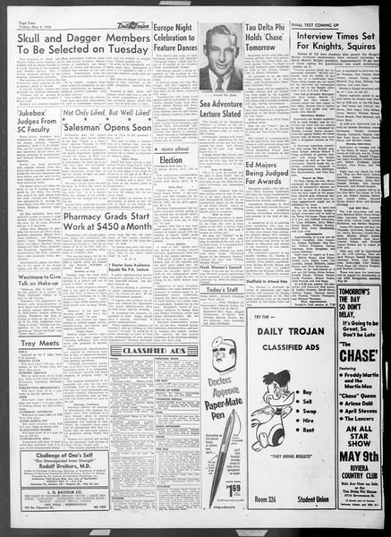 Daily Trojan, Vol. 44, No. 128, May 08, 1953
