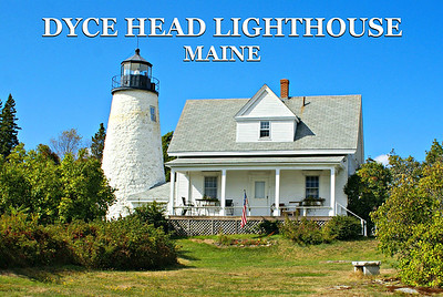 Dyce Head Lighthouse, Maine
