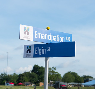 Emancipation Park Press Conference
