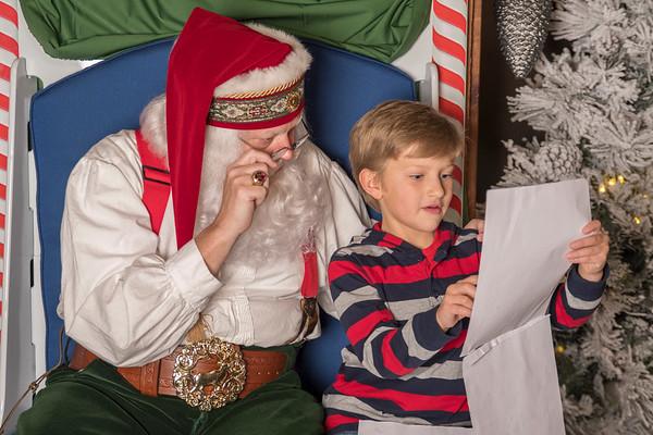 2017 3-5p Santa at the Grove Arcade