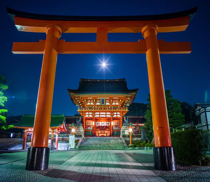 Torii Gate in Kyoto