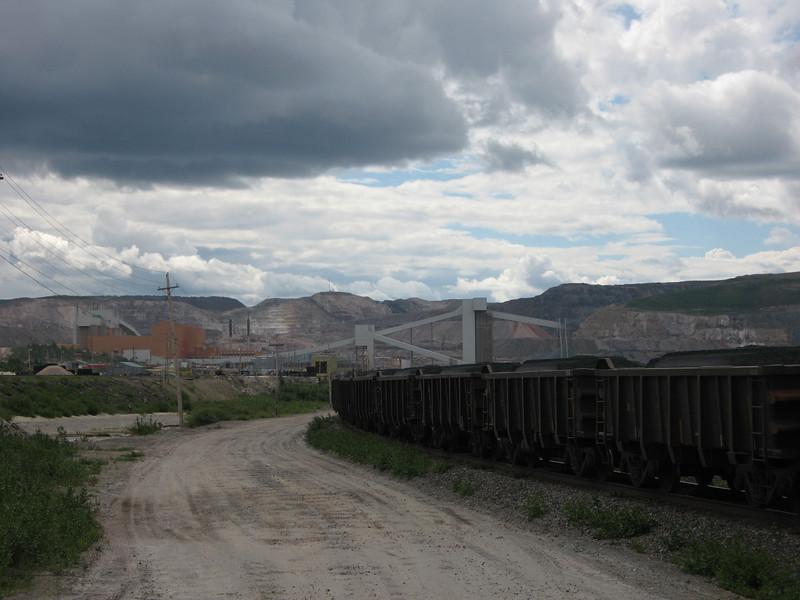 Large mining operation