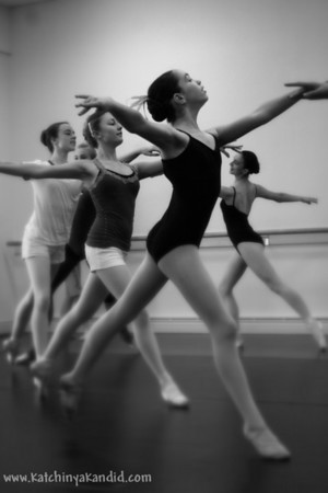 Mel Tomlinson's Master Class for the Folsom Lake Civic Ballet