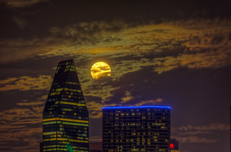 Full Moon at Trinity Groves