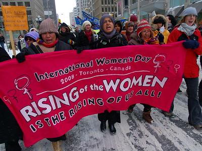 International Women's Day 2008 Toronto