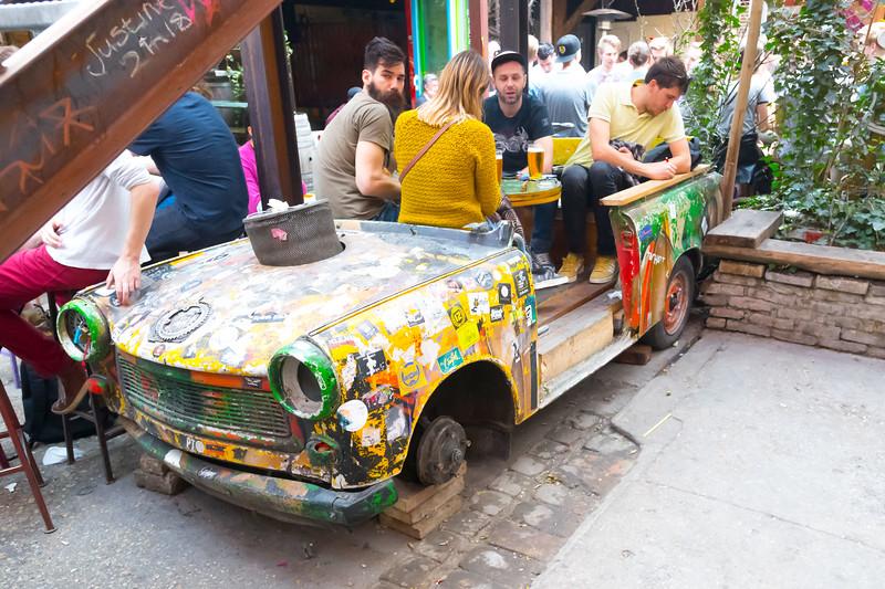 Szimpla Kert - Ruin Bar, Budapest