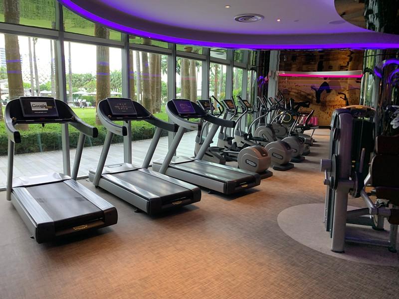 W Sentosa Hotel Pool Gym
