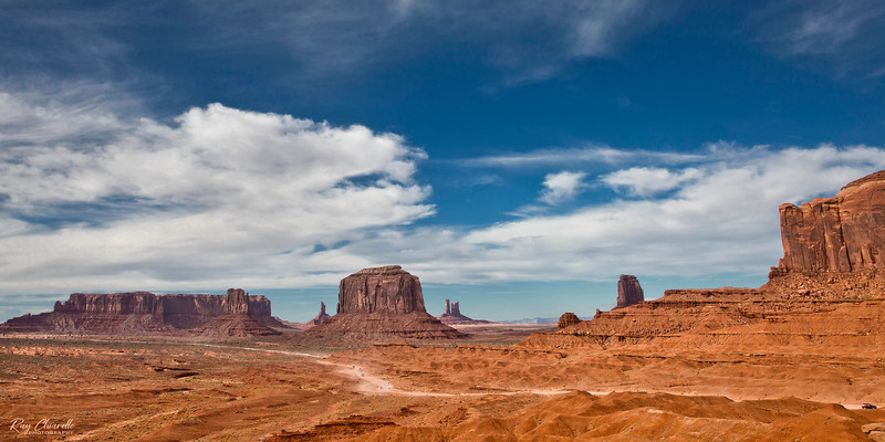 View of Monument Valley from John Ford Point