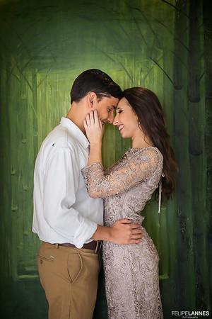 Noivado: Alessandra e Daniel