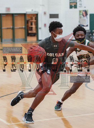 Colgan @ Woodbridge Boys Varsity Basketball 12-28-20