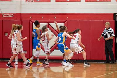 SVHS Girl's Basketball vs Wilson